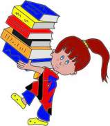 girl with books-01