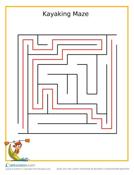 kindergarten_maze_kayaking_answers